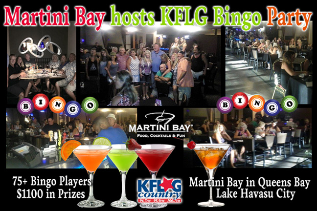 Martini Bay Bingo Party