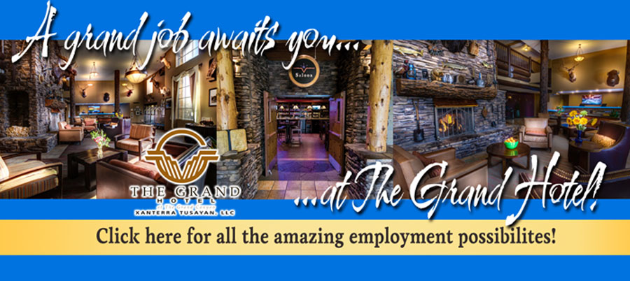 Employment at The Grand Hotel