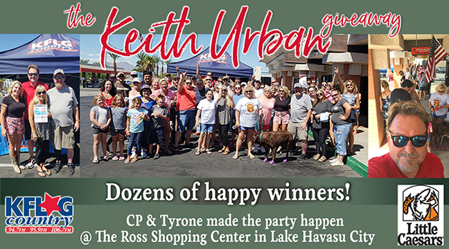 The Keith Urban Giveaway