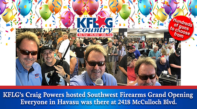 Southwest Firearms Grand Opening Party
